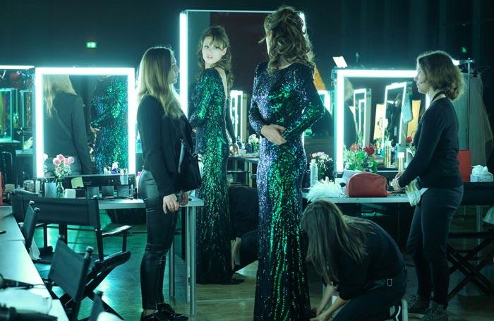Christine Hubert, maquilleuse pour le film Miss de Hugo Gélin