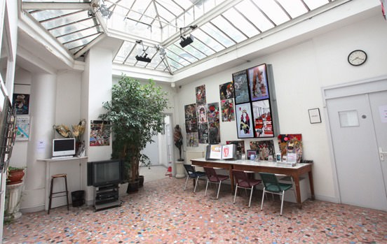 locaux ecole maquillage paris