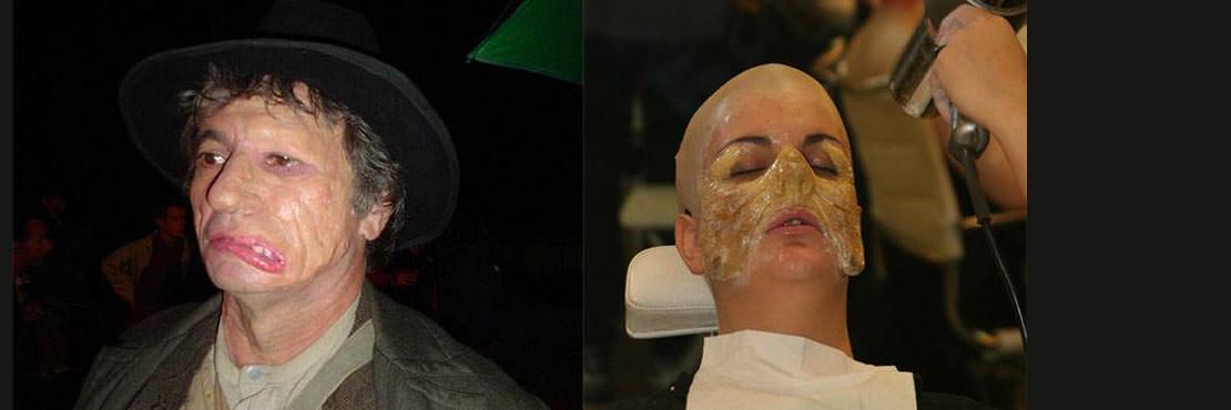 Maquillage Effet Spéciaux Niveau 2  Fabrication et pose de prothèse en  silicone